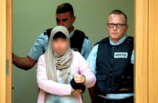 Fünf Jahre Haft für IS-Kämpferin Sabine S.