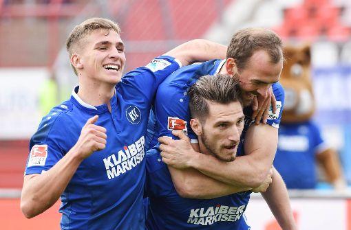 Abstiegsbedrohter KSC überrascht mit Sieg gegen Hannover