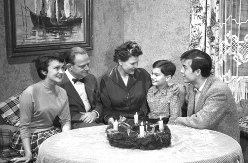 Familie Schöler aus den Fünfziger Jahren. Foto: ARD