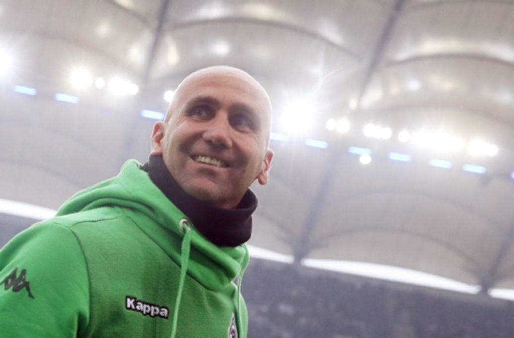 Der   anfangs so erfolgreiche Trainer André Schubert steht in Gladbach    mittlerweile unter kritischer Beobachtung. Foto: dpa