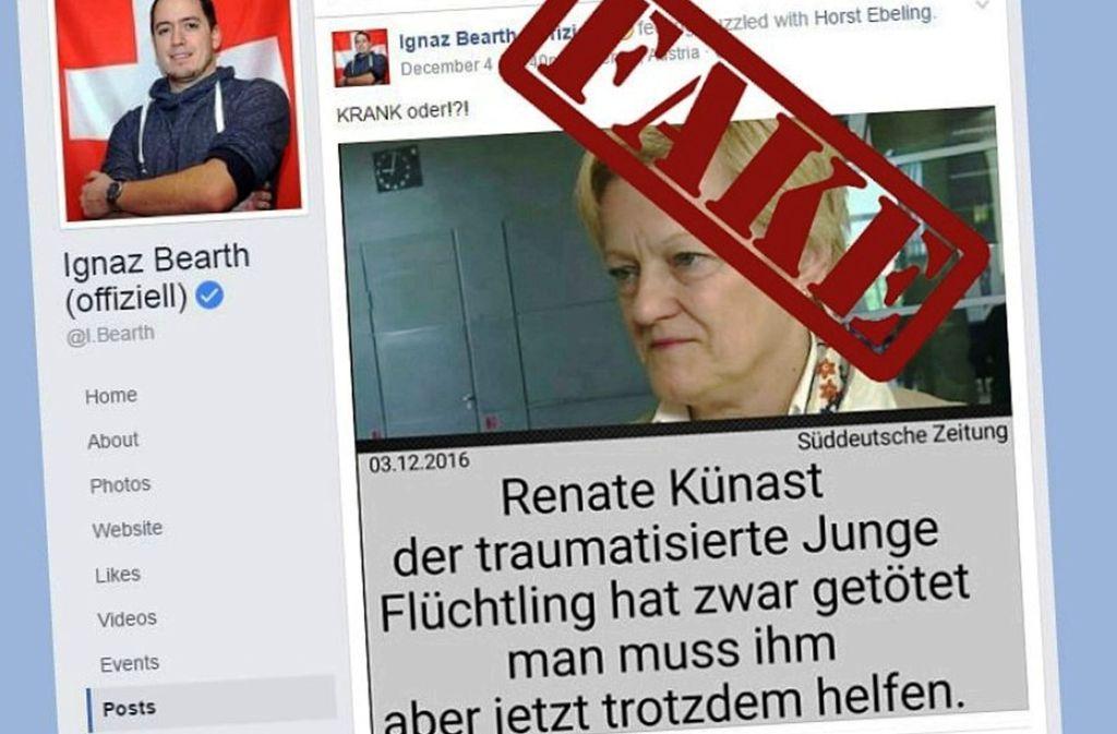 Immer wieder werden Falschmeldungen im Netz verbreitet – und  aufgedeckt Foto: