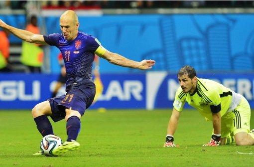 Niederlande entzaubern Weltmeister Spanien