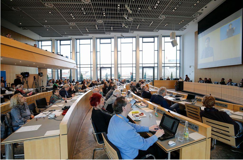 Die Kommunalwahl in Stuttgart findet zeitgleich mit der Europawahl statt – am Sonntag, 26. Mai 2019. (Symbolbild) Foto: Lichtgut/Leif Piechowski