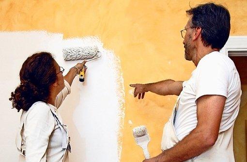 Die Maler kämpfen  um ein besseres Image