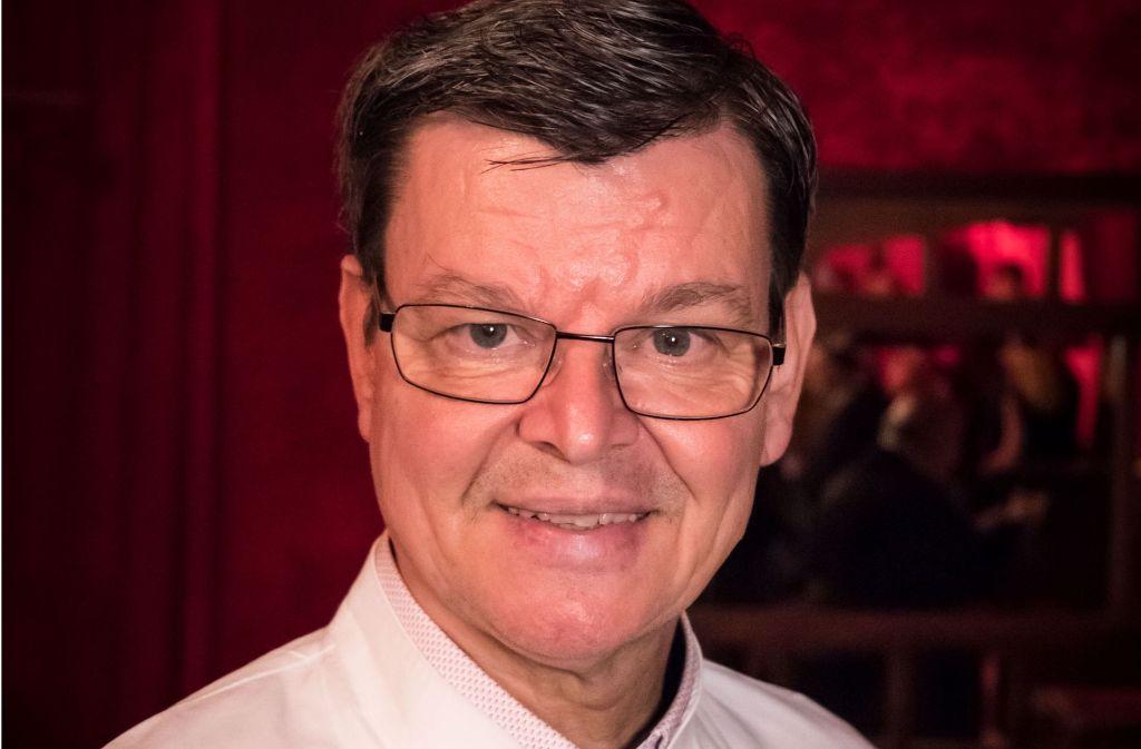 Immer ein Gentleman in der Küche: Harald Wohlfahrt Foto: Lichtgut/Achim Zweygarth