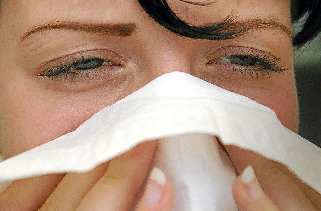 Erkältungszeit: Was hilft gegen Schnupfen, Husten und Co.?  Foto: dpa