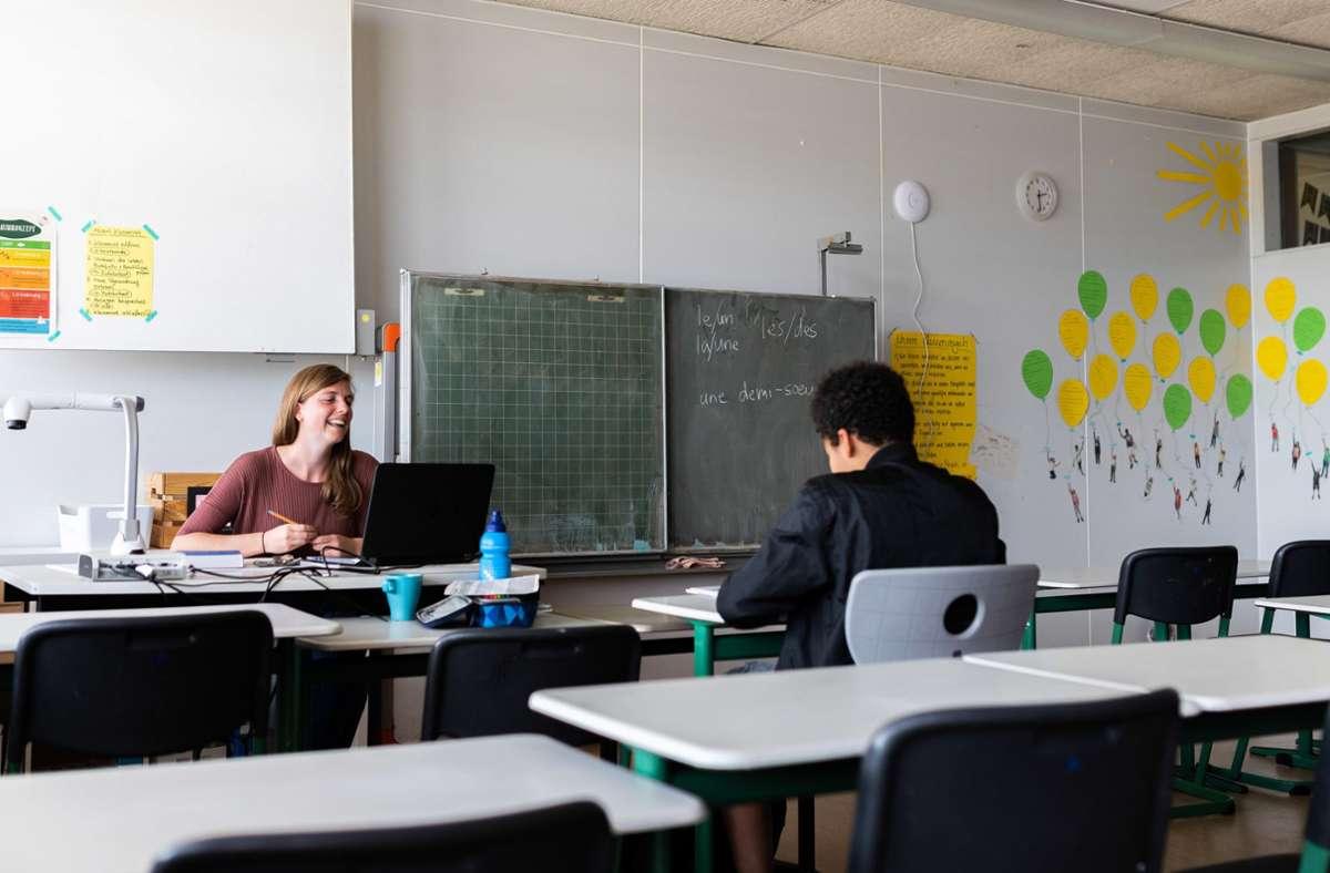 Im Frühjahr haben die Schulen eine Notbetreuung für die Kinder angeboten. Foto: dpa/Philipp von Ditfurth