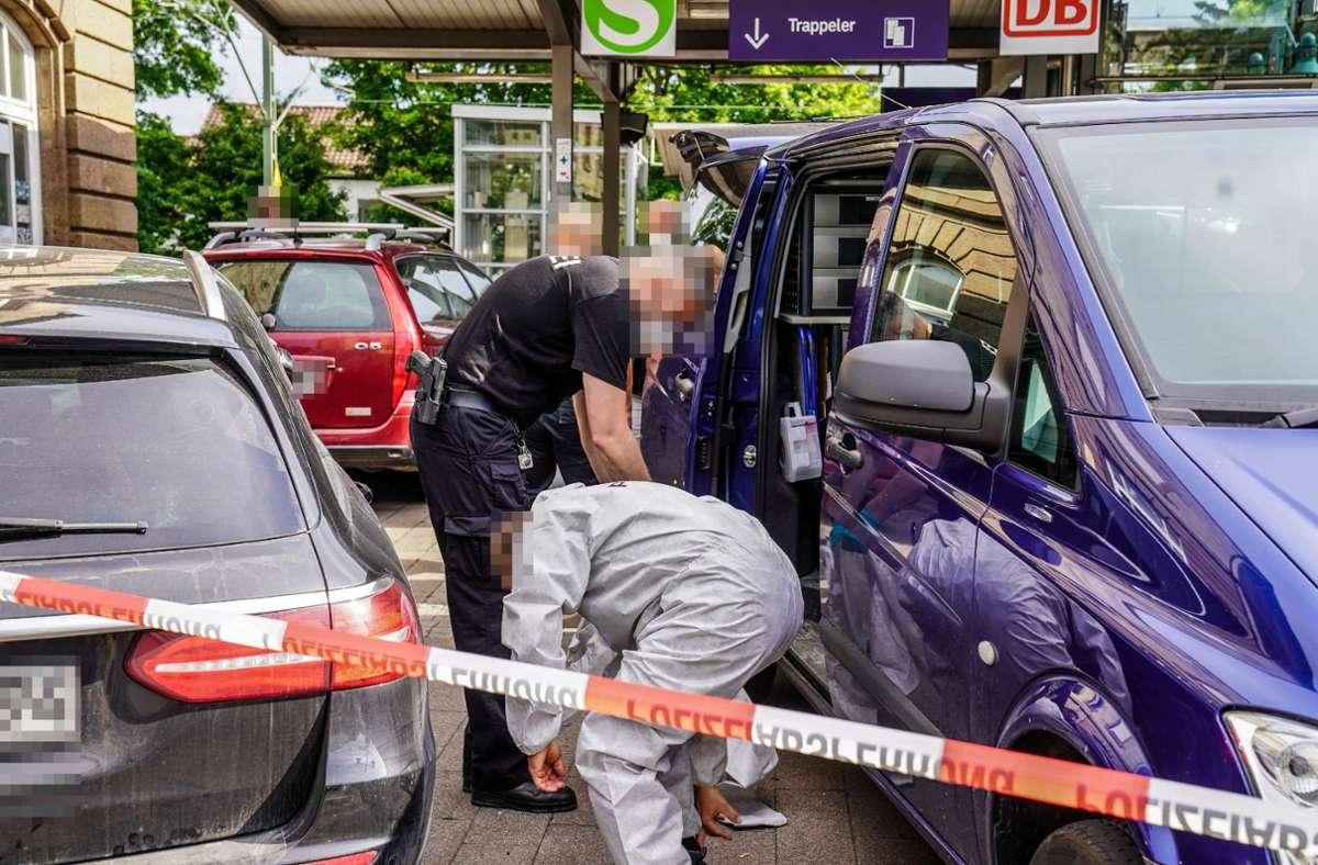 Am Freitag ist am Bahnhof Endersbach ein Toter gefunden worden. Foto: SDMG/Kohls