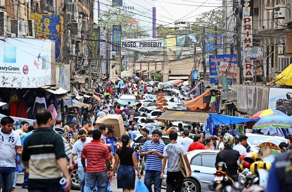 Das Leben in Paraguays Städten ist laut und turbulent – und vermutlich ziemlich aufregend! Foto: AFP