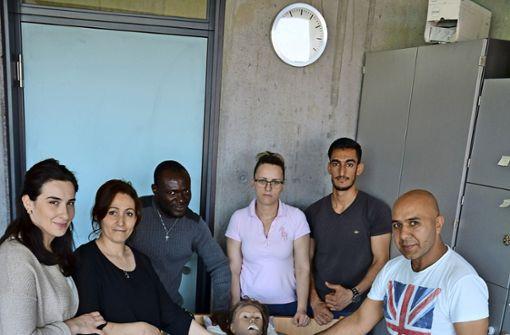 Pflegeberuf als Perspektive für Flüchtlinge