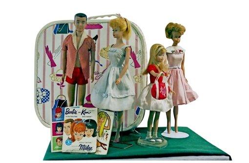 Wie Ken und Barbie früher aussahen