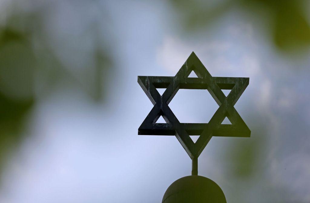 Juden fühlen sich in Deutschland zunehmend bedroht. Foto: dpa