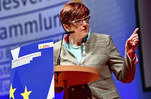 Die Frauen-Union wählt eine neue Vorsitzende
