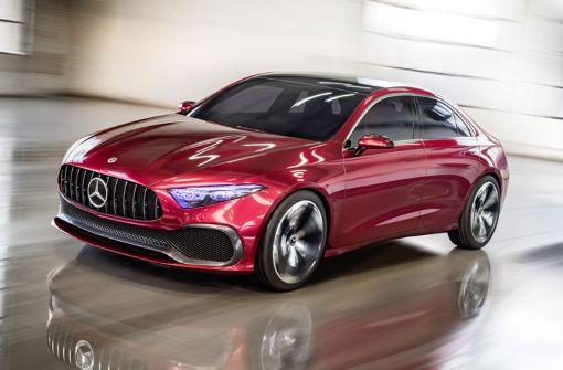 Daimlers neue Kompaktklasse soll puristisch werden