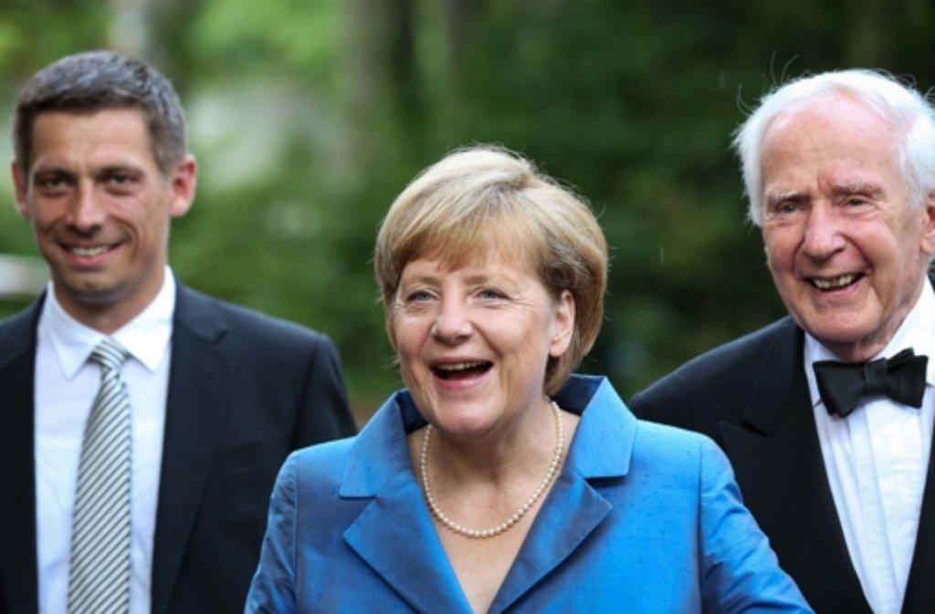 Angela Merkel Sohn Max
