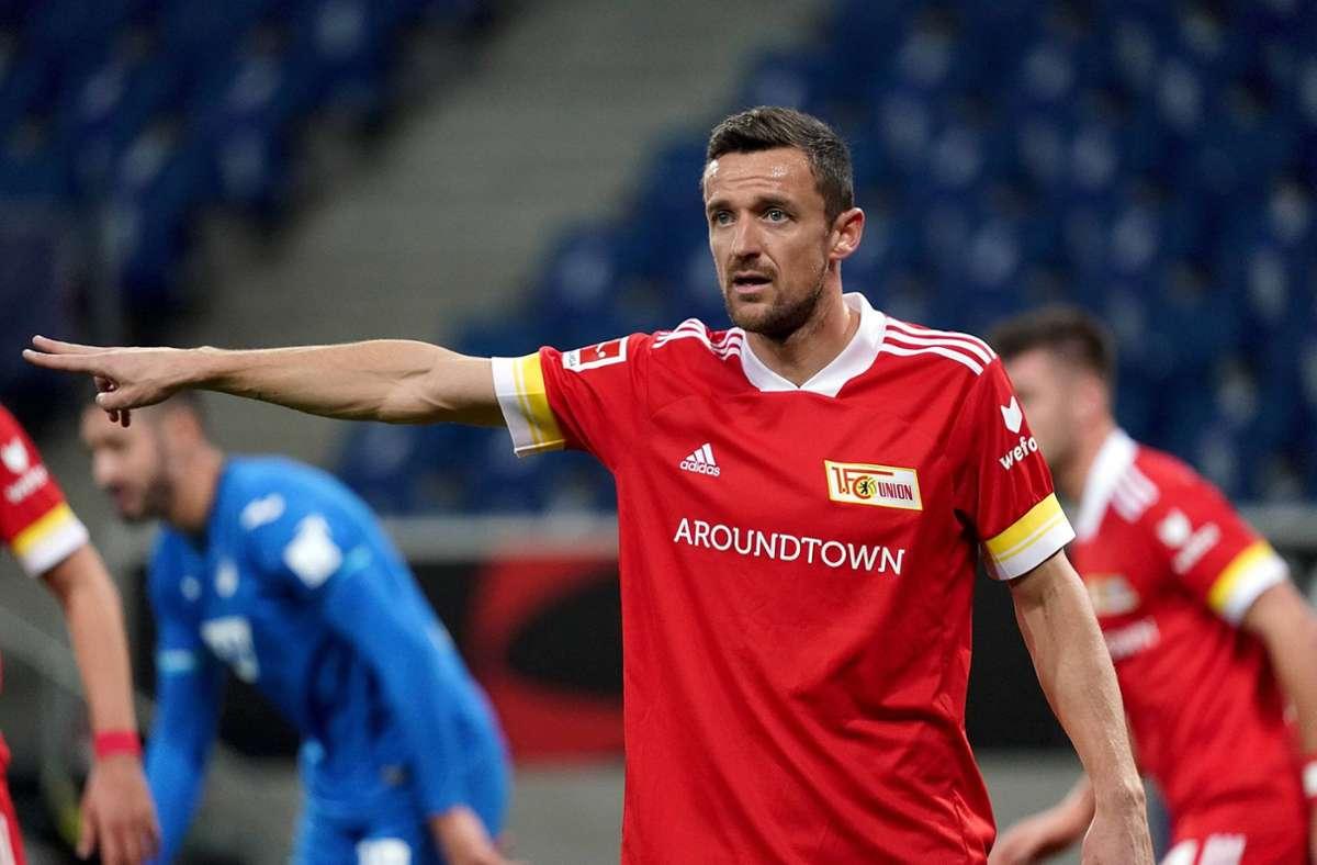 Der Einsatz von Christian Gentner gegen den VfB Stuttgart ist fraglich. Foto: imago images/Nordphoto