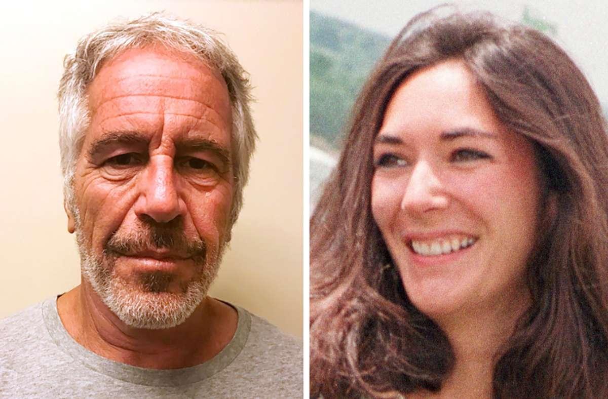 Die Anwälte versuchen, Ex-Partnerin Ghislaine Maxwell von Jeffrey Epstein zu distanzieren. Foto: dpa