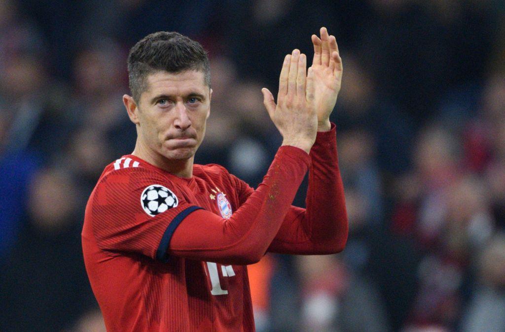 Robert Lewandowski hat zweimal für die Bayern getroffen. Foto: dpa