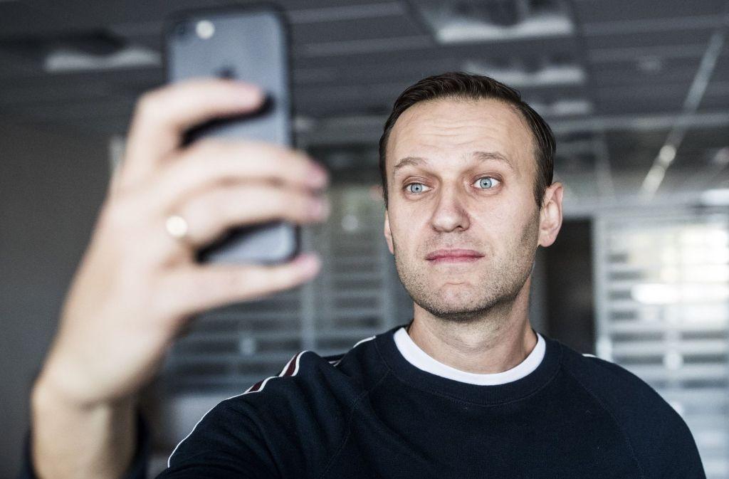 Der Kreml-Kritiker Alexej Nawalny war Anfang Oktober zu der Haftstrafe verurteilt worden Foto: Navalny Campaign/AP