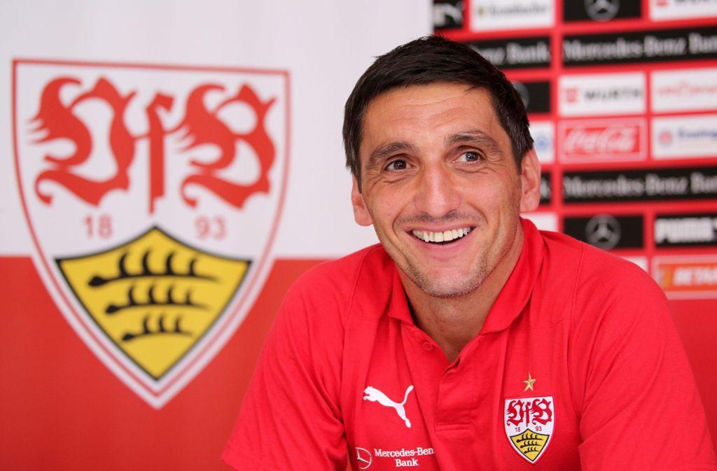 Trainer Tayfun Korkut und der VfB Stuttgart stehen vor dem Auftakt in die Saison. Foto: Pressefoto Baumann