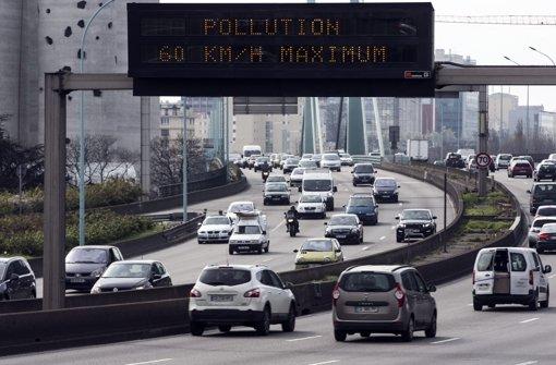 Paris führt Fahrverbote ein