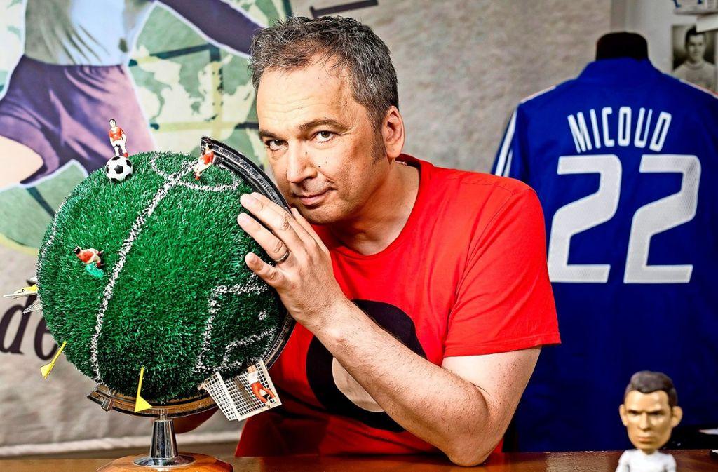 Arnd Zeigler hat sich früh mit dem Fußball-Virus infiziert.  Foto: WDR