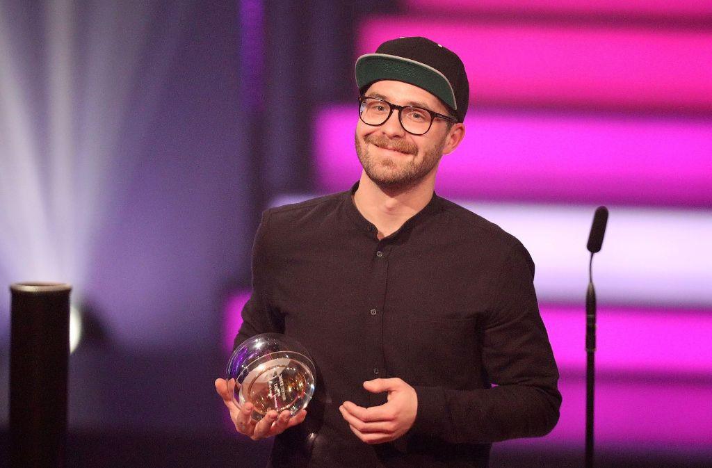 Mark Foster gewann gleich zwei Kronen bei der Verleihung Foto: Getty Images Europe