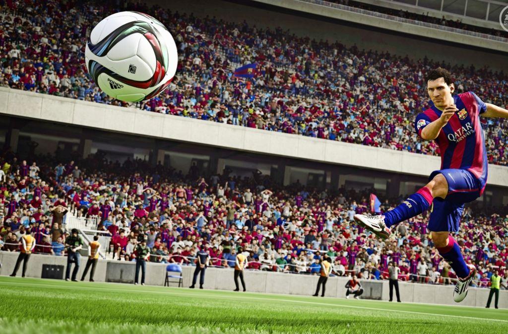 """Eines der beliebtesten Spiele am Computer ist """"FIFA"""". Foto: red"""