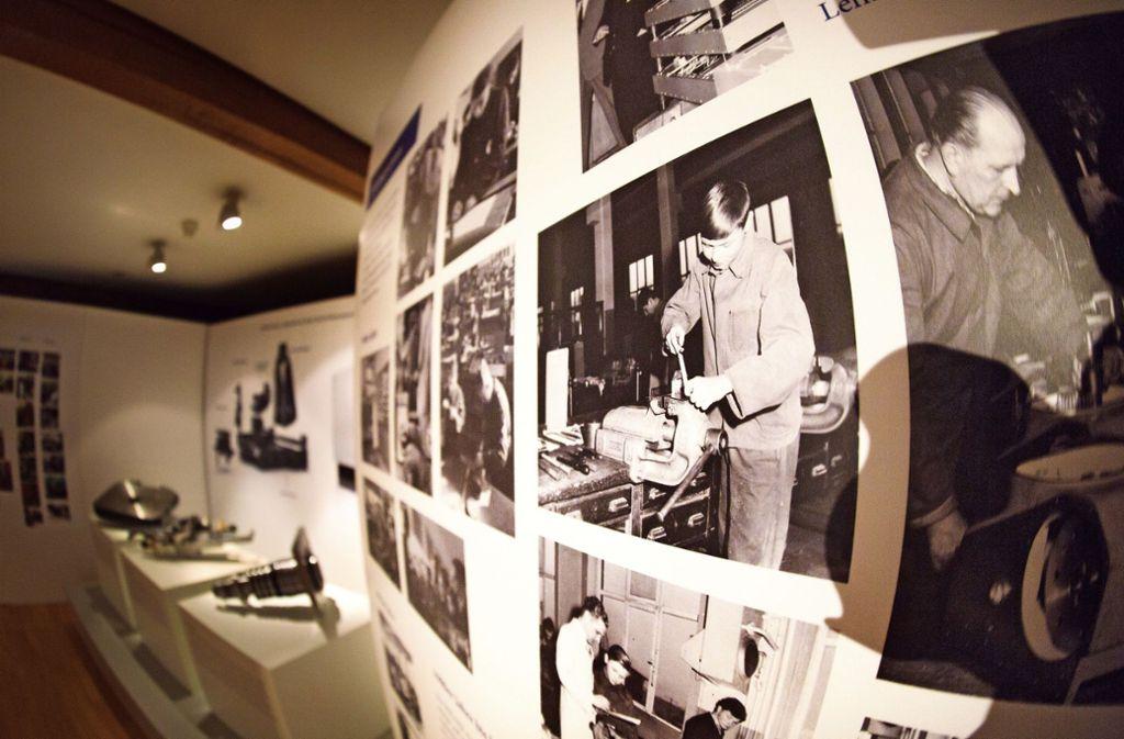 """Die Menschen stehen im Mittelpunkt der Ausstellung """"Beim Heller g'lernt"""". Foto: Ines Rudel"""