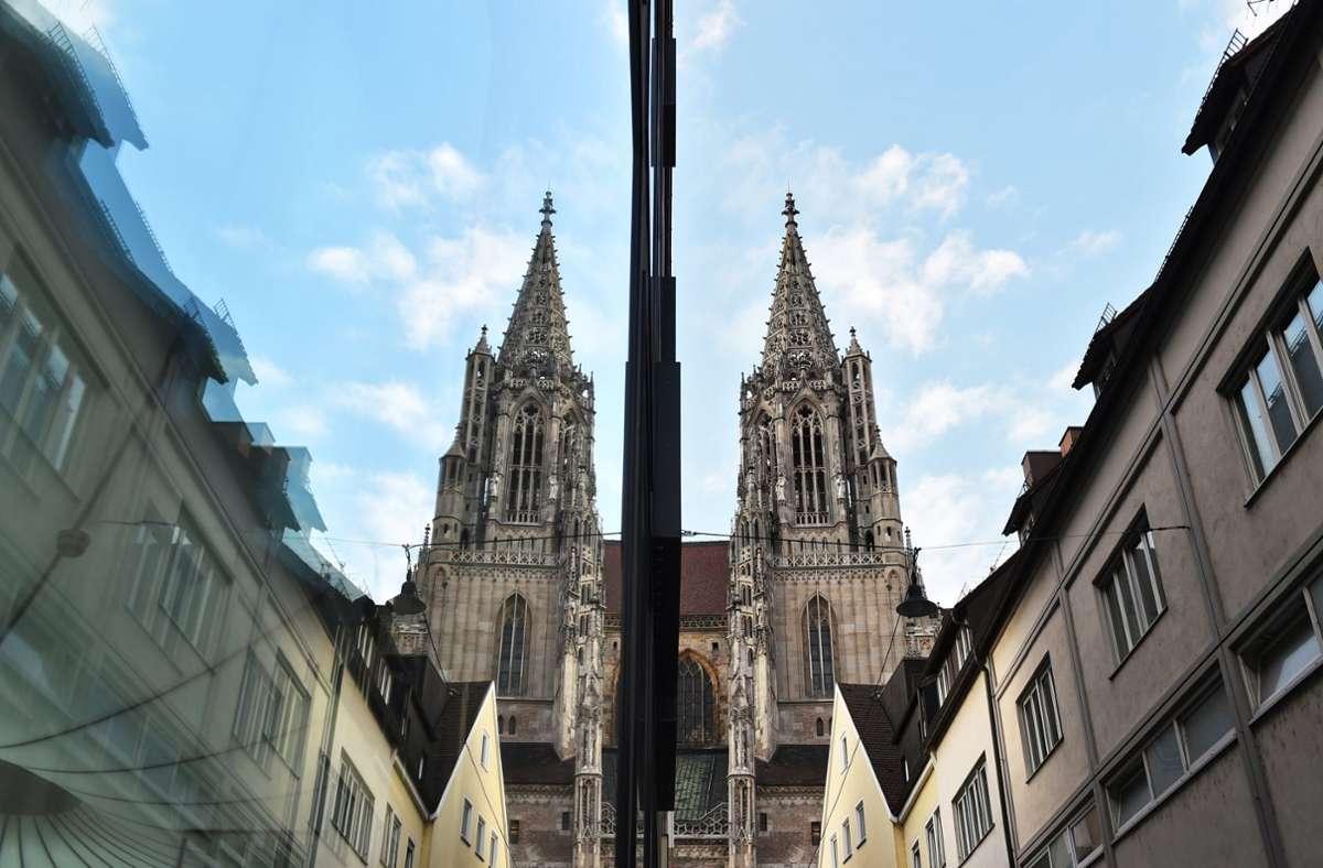 Das Münster in Ulm. Foto: dpa/Felix Kästle
