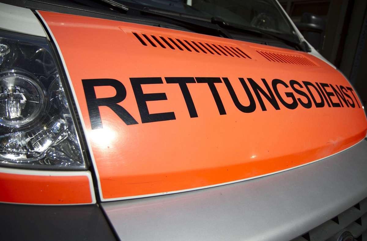 Ein 40-jähriger Radfahrer stirbt nach einem Unfall bei Leonberg. Ursache war  wohl ein medizinischer Notfall Foto: Eibner-Pressefoto/Fleig / Eibner-Pressefoto