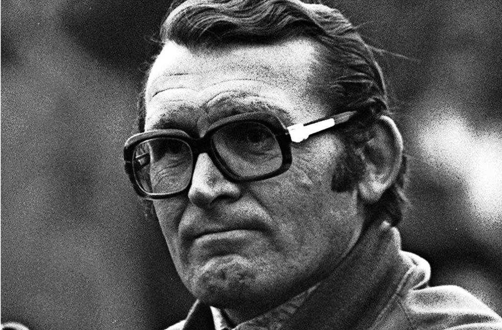 Interimstrainer beim VfB Stuttgart in der Saison 1974/75: Der nun verstorbene Karl Bögelein Foto: Baumann