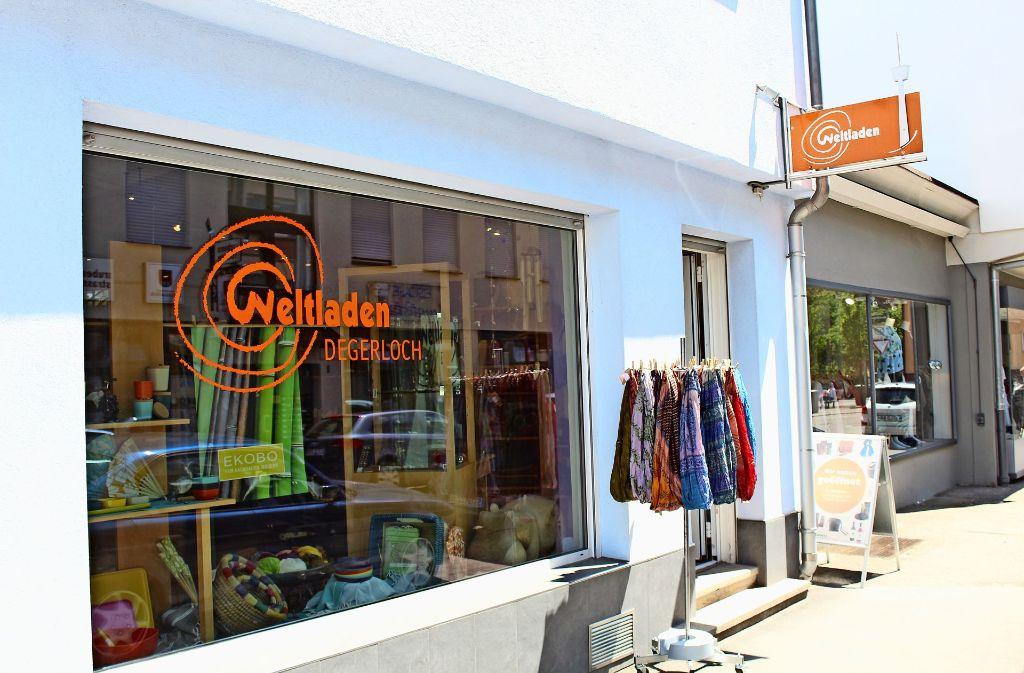 Der Weltladen an der Rubensstraße ist der Nukleus der Fairtrade-Bewegung in Degerloch. Foto: Tilman Baur