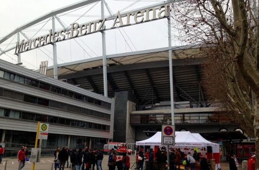 Spieltagsblog: Großes Spruchband der VfB-Fans