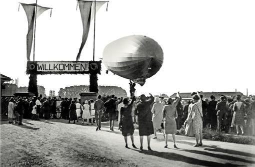 Im Zeppelin um den Globus