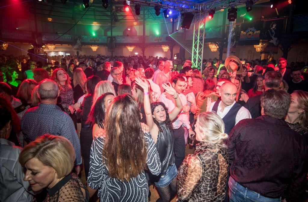 Natürlich wurde bei der Boa-Party ausgiebig getanzt. Foto: Lichtgut/Martin Stollberg