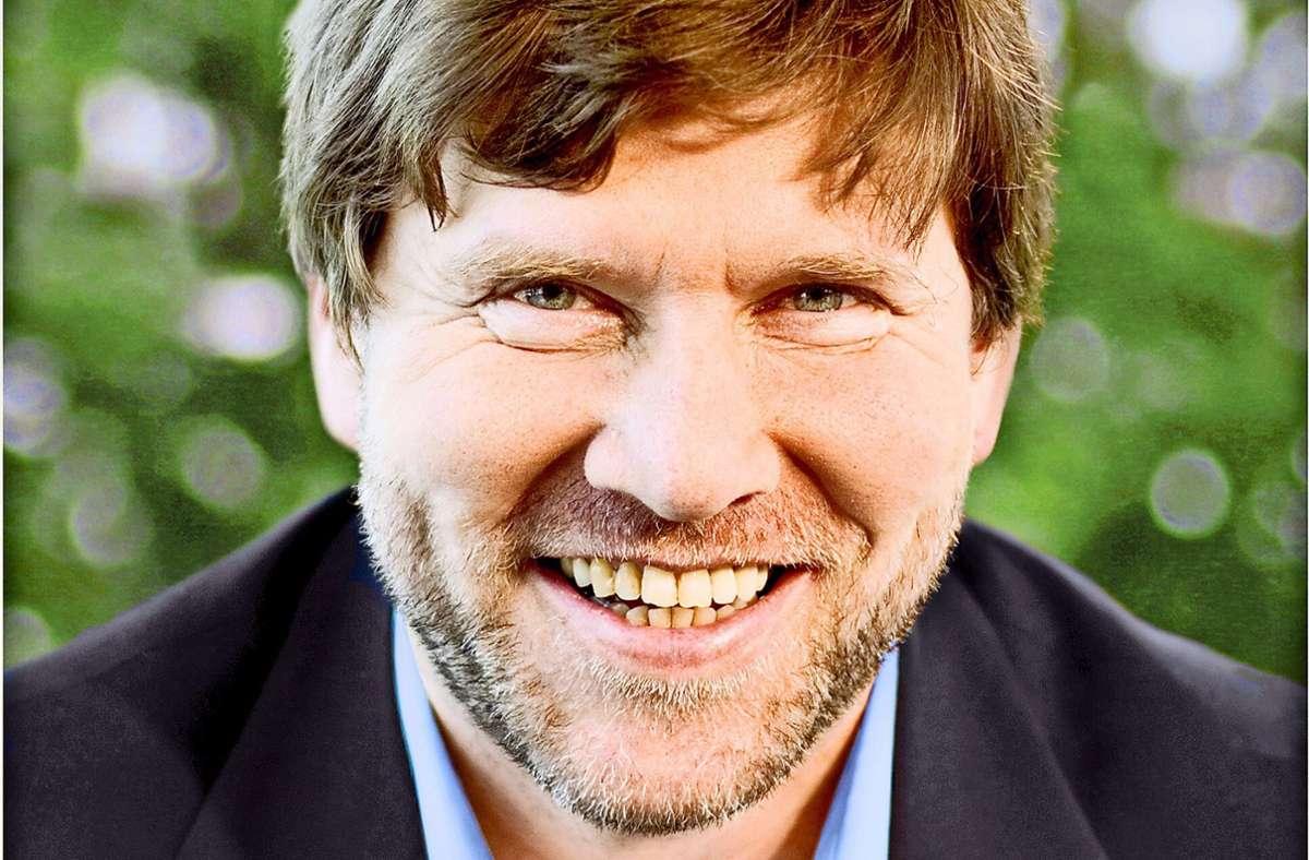 Strahlender Sieger im Wahlkreis Vaihingen: Markus Rösler (Grüne) Foto: /privat