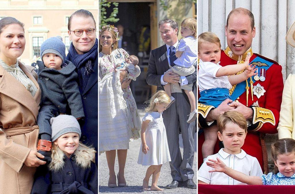 Europas Königshäuser haben keine Nachwuchssorgen. Foto: dpa