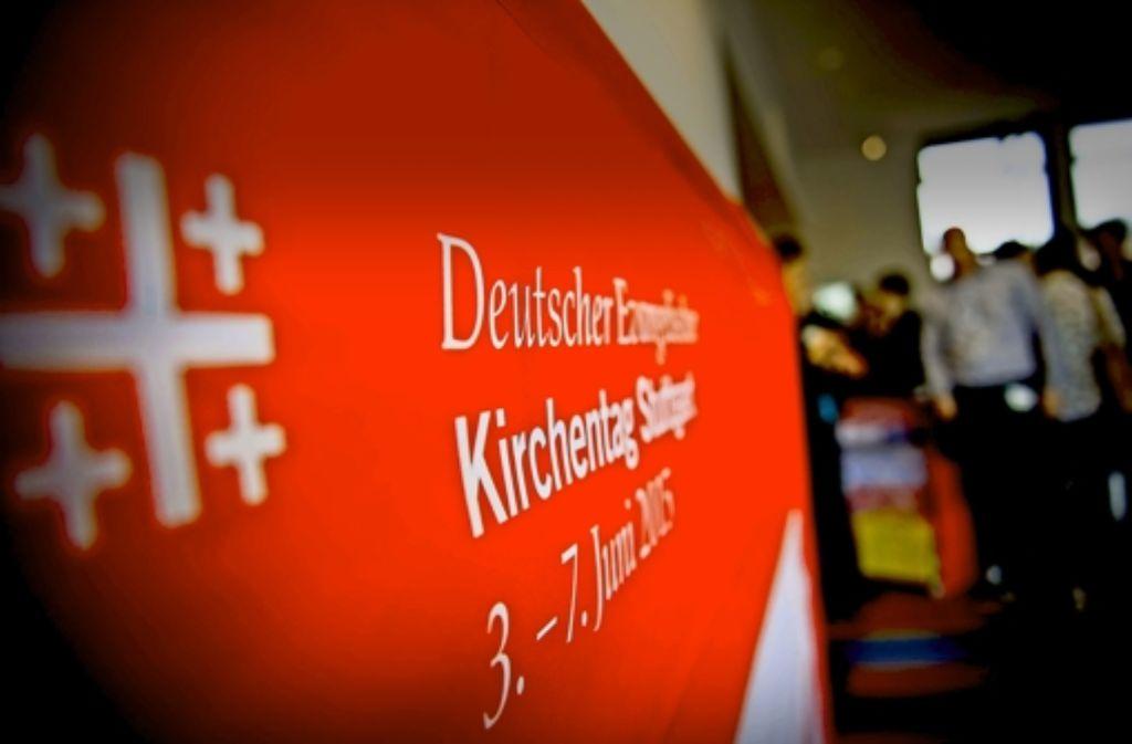 Die Vorbereitungen laufen auf Hochtouren: In wenigen Wochen beginnt zum vierten Mal in Stuttgart der evangelische Kirchentag. Foto: Lichtgut/Max Kovalenko