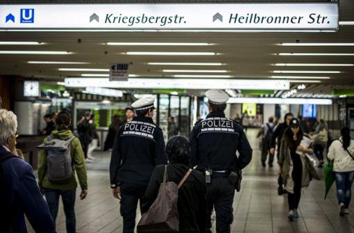 135 Angriffe auf Bundespolizisten im Südwesten