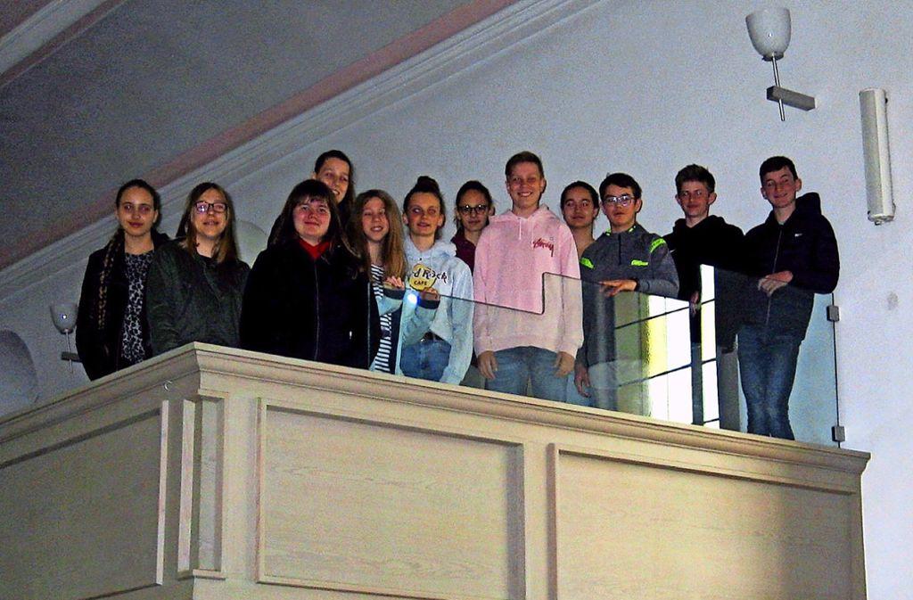 Stuttgarts erste Konfirmandengruppe kommt in diesem Jahr aus Feuerbach. Foto: Müller-Baji
