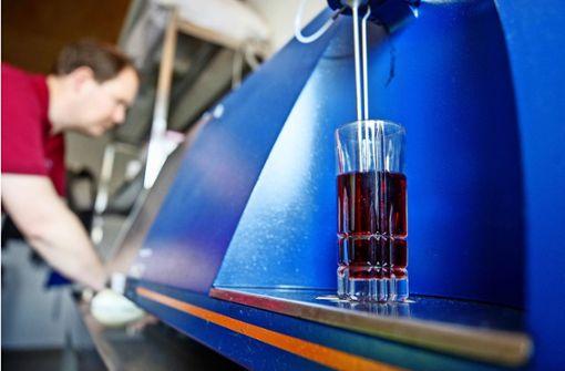 Messgerät für  wichtige Weinwerte