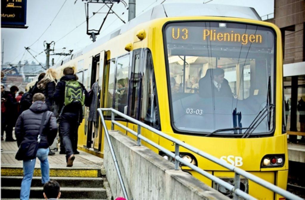 Die Stuttgarter Straßenbahnen  fahren  ins Defizit. Foto: Lg/Achim Zweygarth