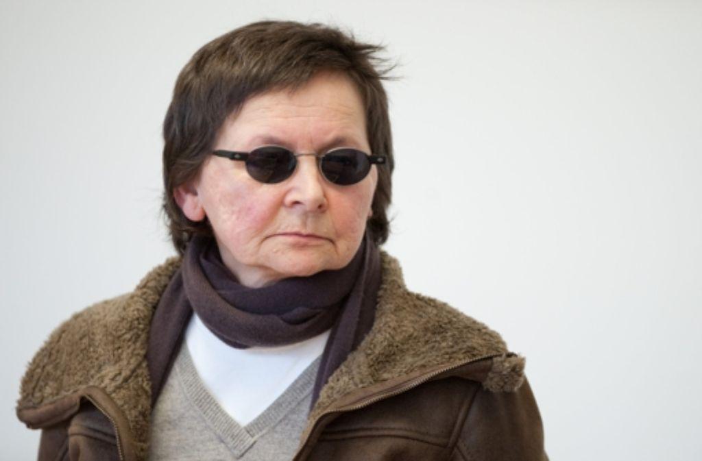 Die frühere Terroristin Verena Becker Foto: dpa