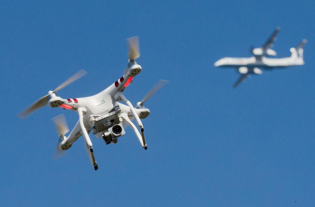Kein Drohneneinsatz zur Dokumentation der Olympischen Spiele in Japan (Symbolbild) Foto: dpa