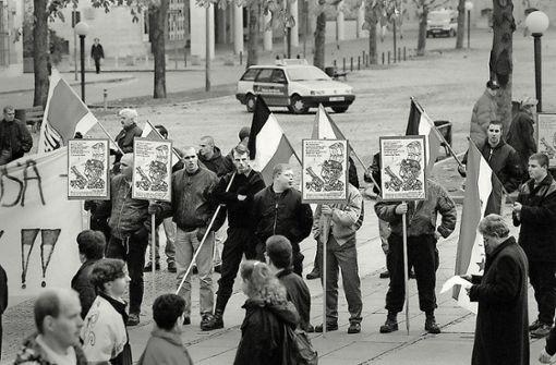 Der Ausflug der Thüringer Neonazis nach Stuttgart