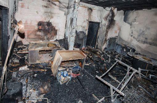 Drei Menschen sterben bei Brand in Sozialunterkunft