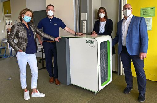 Luftfilter für Schulen und  Klassenzimmer