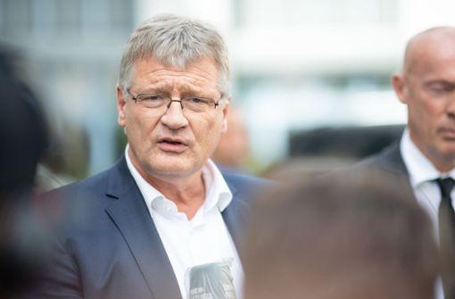 Jörg  Meuthen verlangt Aufklärung