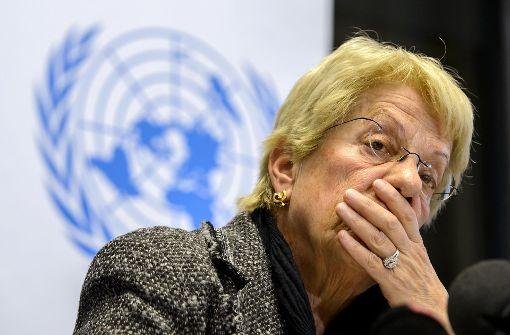 Carla Del Ponte wirft das Handtuch